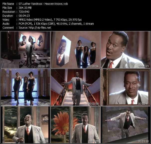 Luther Vandross video screenshot