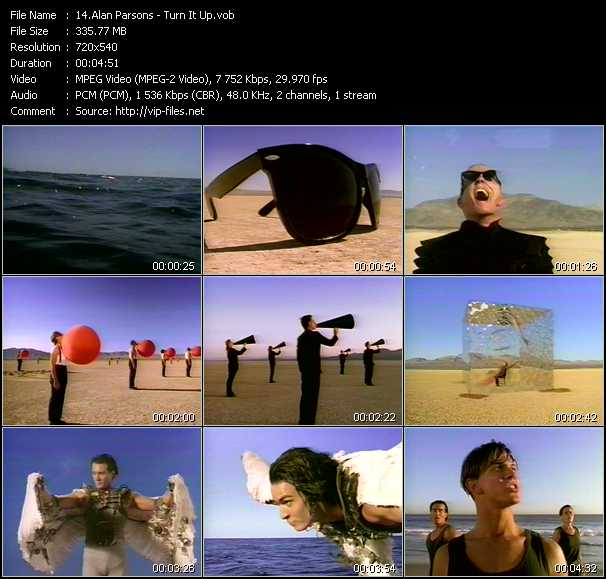 Alan Parsons video screenshot