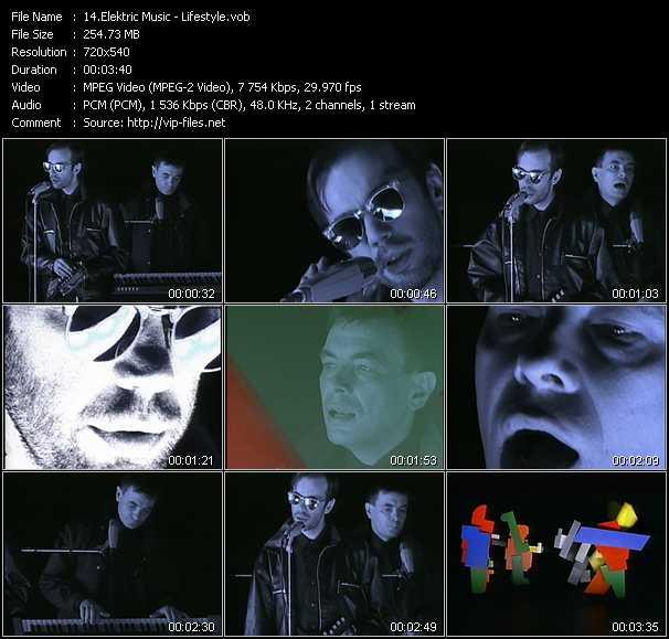 Elektric Music video screenshot