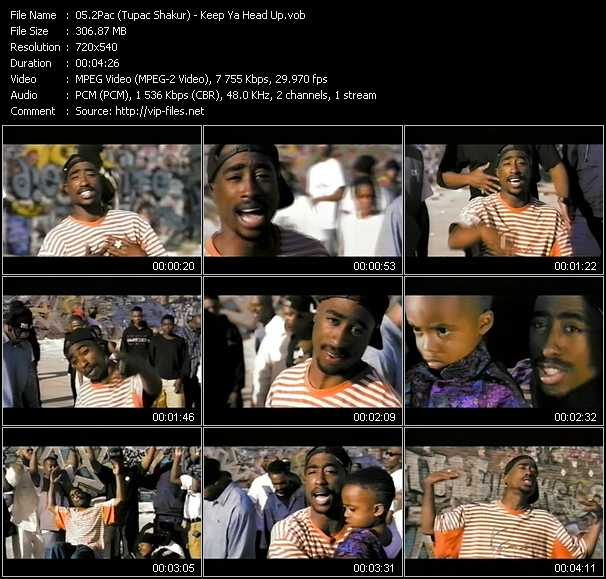 2Pac (Tupac Shakur) video screenshot
