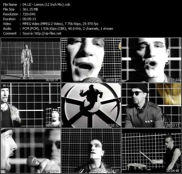 video Lemon (12 Inch Mix) screen