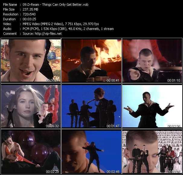 D-Ream video screenshot