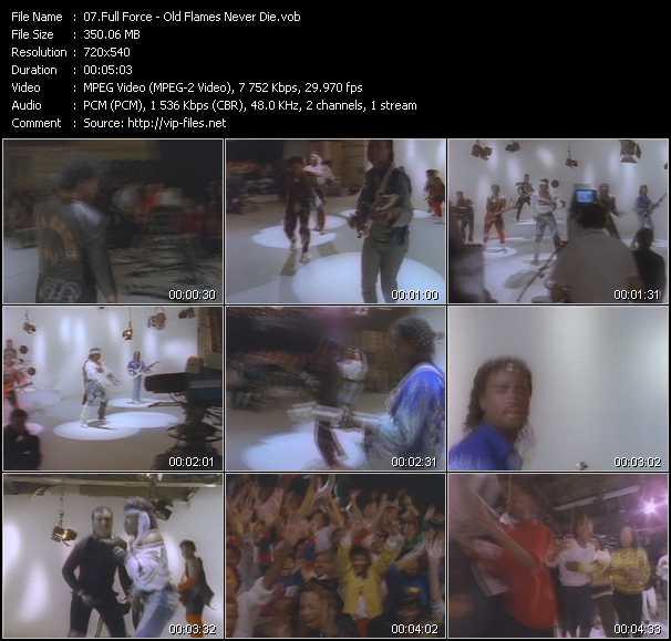 Full Force video screenshot