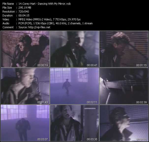 Corey Hart video screenshot