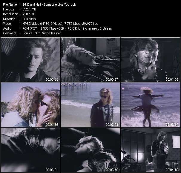 Daryl Hall video screenshot