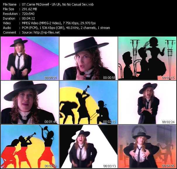Carrie McDowell video screenshot