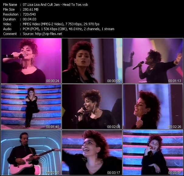 Lisa Lisa And Cult Jam video screenshot