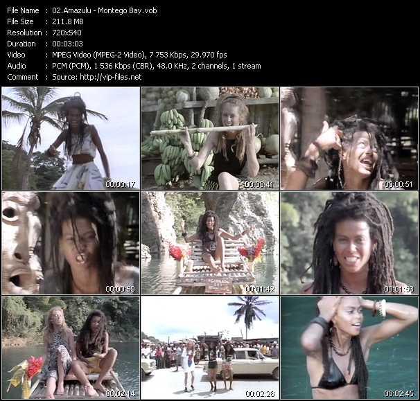 Amazulu video screenshot