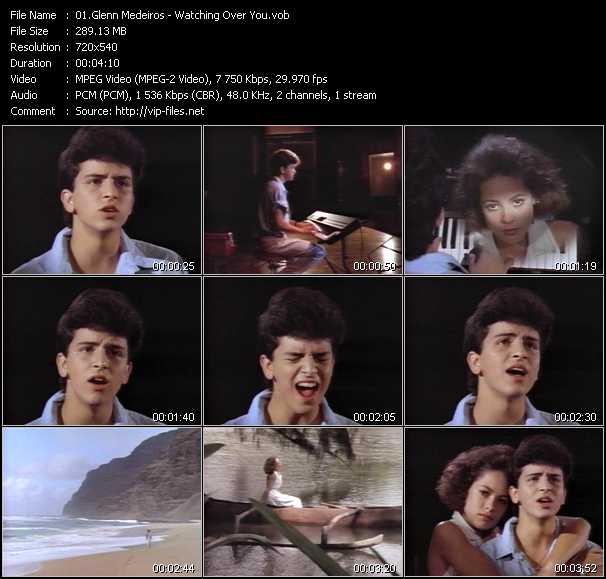 Glenn Medeiros video screenshot