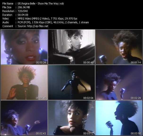Regina Belle video screenshot