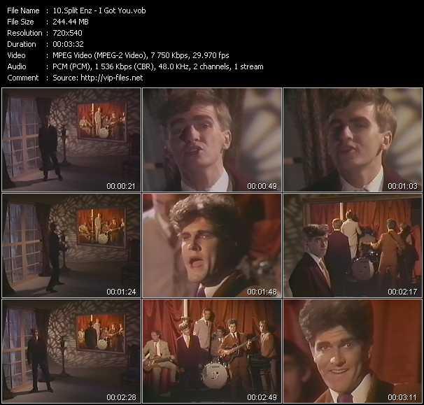 Split Enz video screenshot