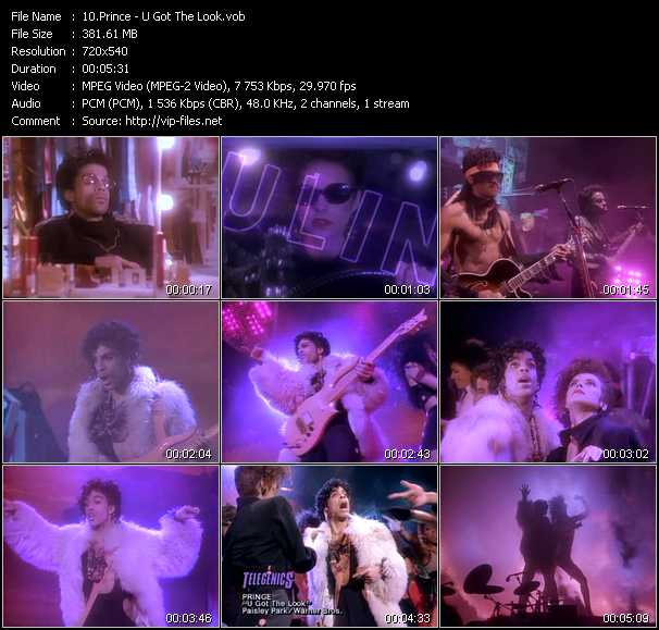 Prince Feat. Sheena Easton video screenshot