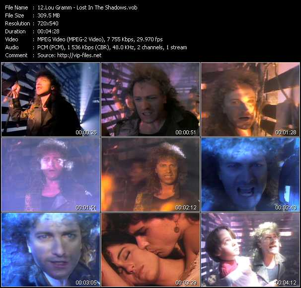 Lou Gramm video screenshot