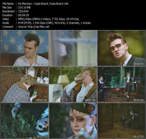 Morrisey video screenshot