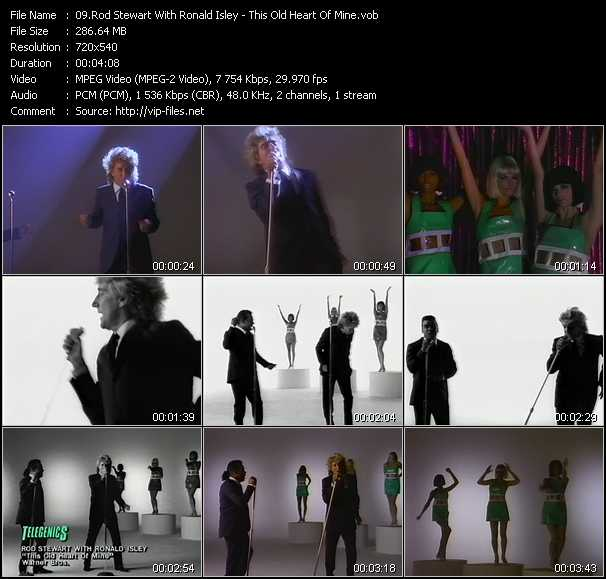 Rod Stewart With Ronald Isley video screenshot