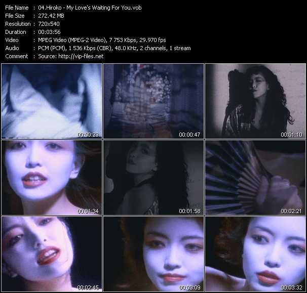Hiroko video screenshot