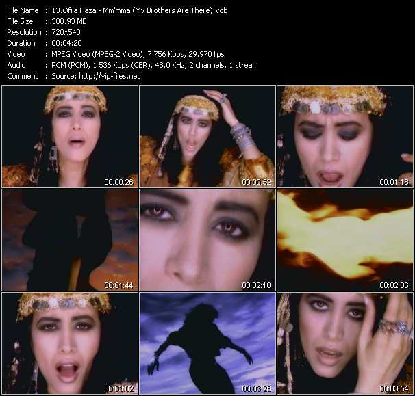 Ofra Haza video screenshot
