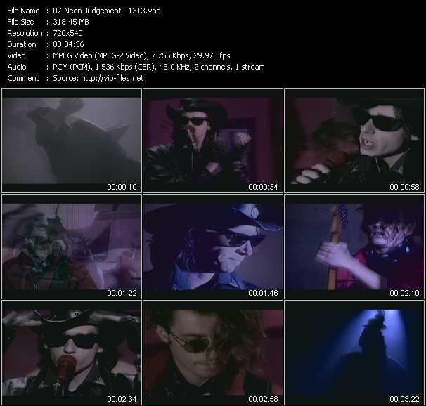 Neon Judgement video screenshot