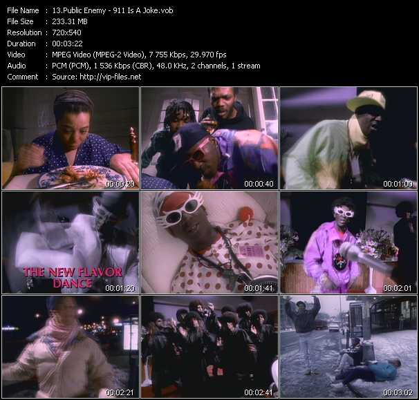 Public Enemy video screenshot
