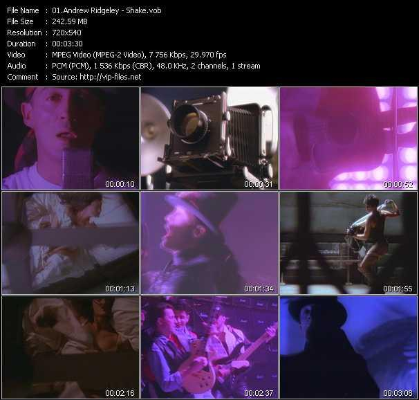 Andrew Ridgeley video screenshot