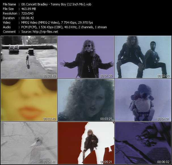Concett Bradley video screenshot