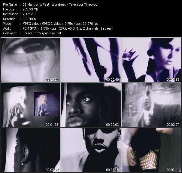 Mantronix Feat. Wondress video screenshot