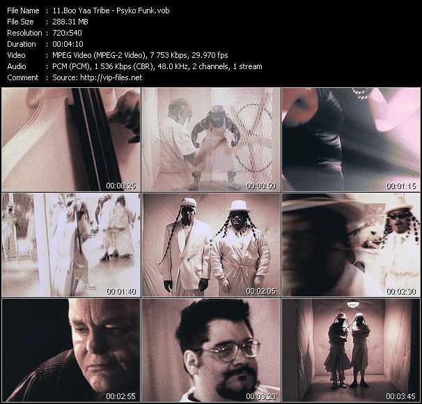 Boo Yaa Tribe (Boo-Yaa T.R.I.B.E.) video screenshot