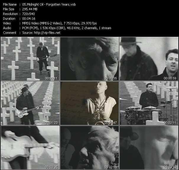 Midnight Oil video screenshot