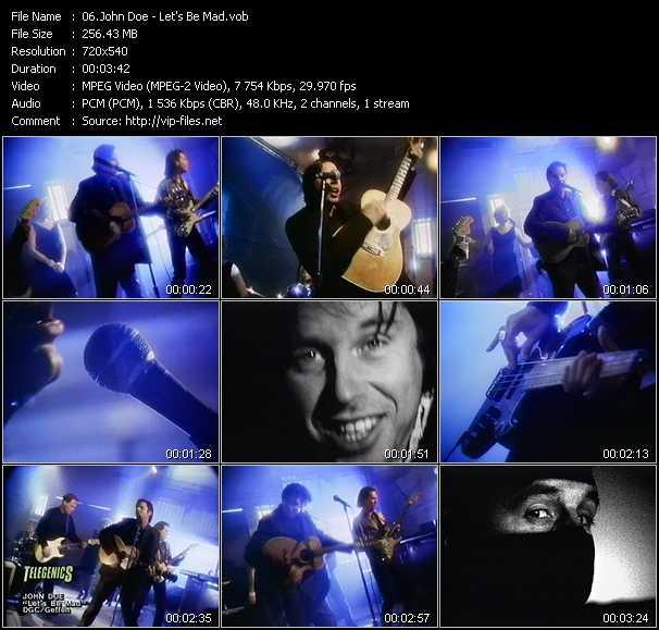 John Doe video screenshot