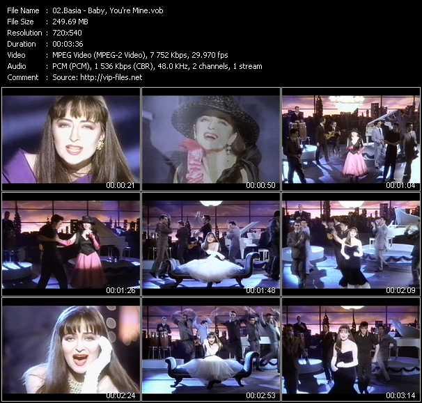 Basia video screenshot