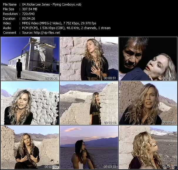 Rickie Lee Jones video screenshot