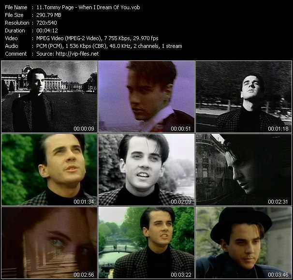 Tommy Page video screenshot