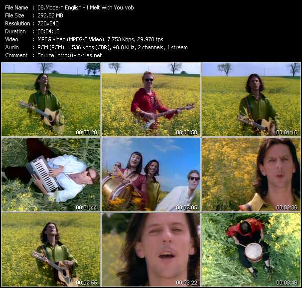 Modern English video screenshot
