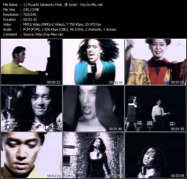 Ryuichi Sakamoto Feat. Jill Jones video screenshot