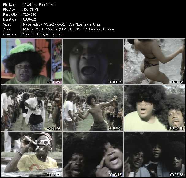 Afros video screenshot