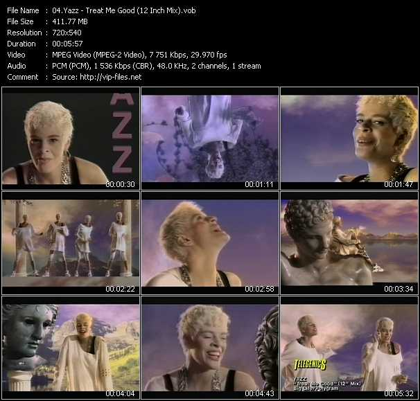 Yazz video screenshot