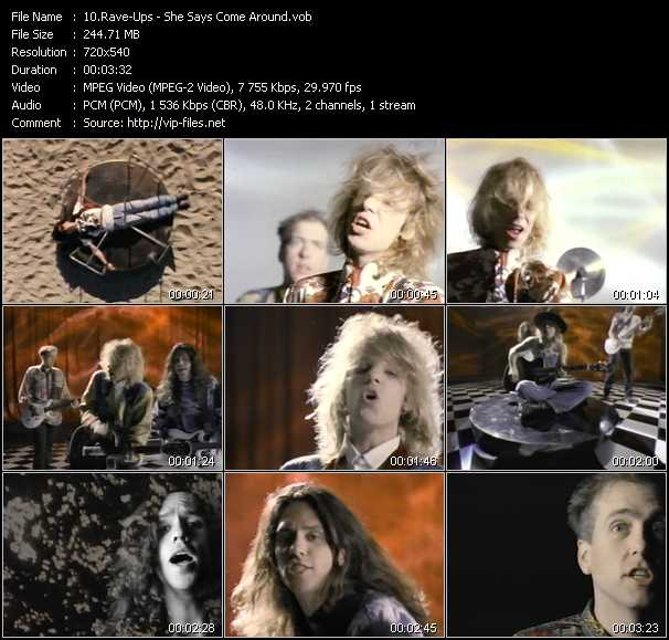 Rave-Ups video screenshot