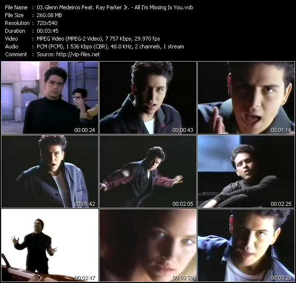Glenn Medeiros Feat. Ray Parker Jr. video screenshot