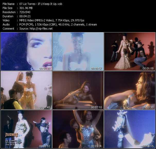 Liz Torres video screenshot