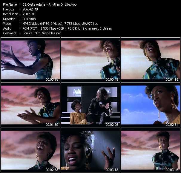 Oleta Adams video screenshot