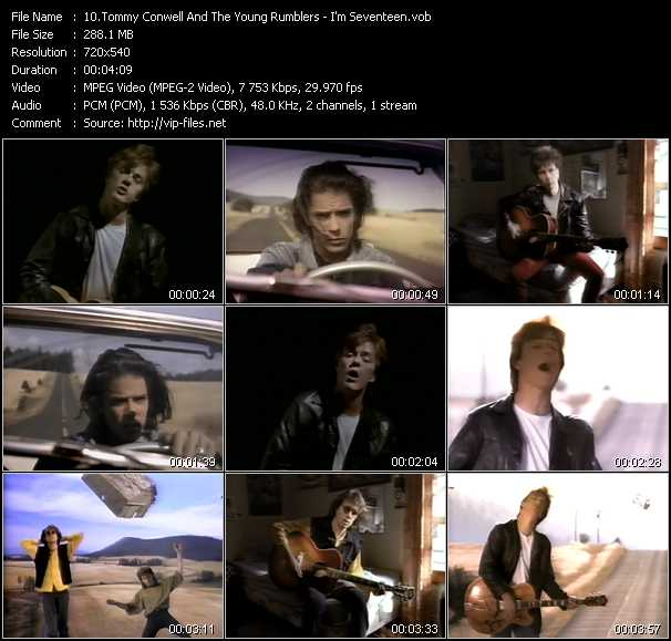 Tommy Conwell And The Young Rumblers video screenshot