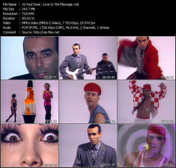 Paul Zone video screenshot