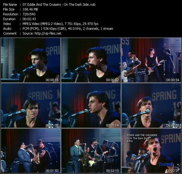 Eddie And The Cruisers video screenshot