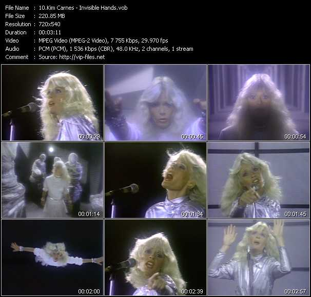 Kim Carnes video screenshot