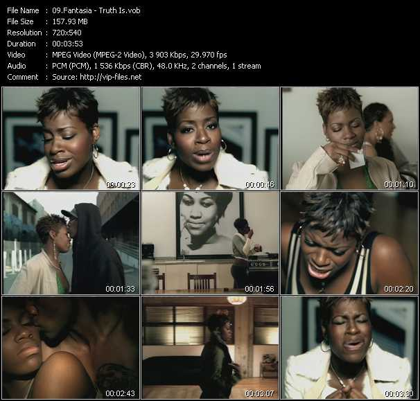 Fantasia video screenshot