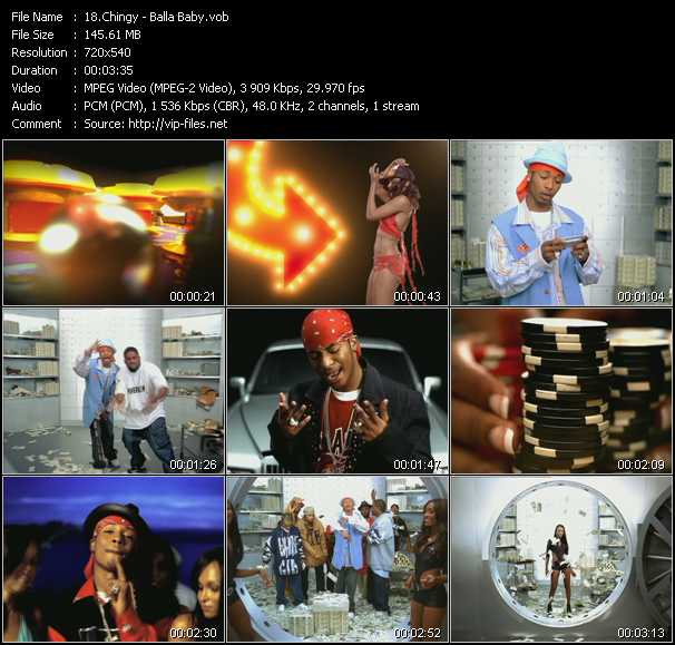 Chingy video screenshot