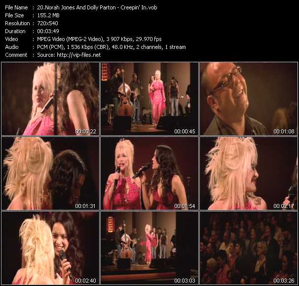 Norah Jones And Dolly Parton video screenshot