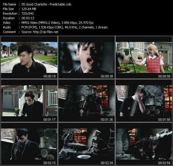 Good Charlotte video screenshot