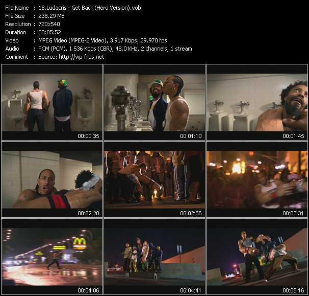 video Get Back (Hero Version) screen