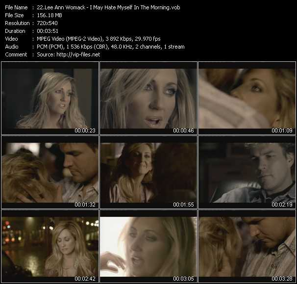 Lee Ann Womack video screenshot